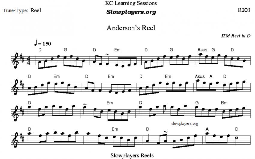 Anderson's Reel