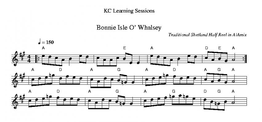 Bonnie Isle O' Whalsey