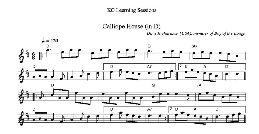 Calliope House Jig
