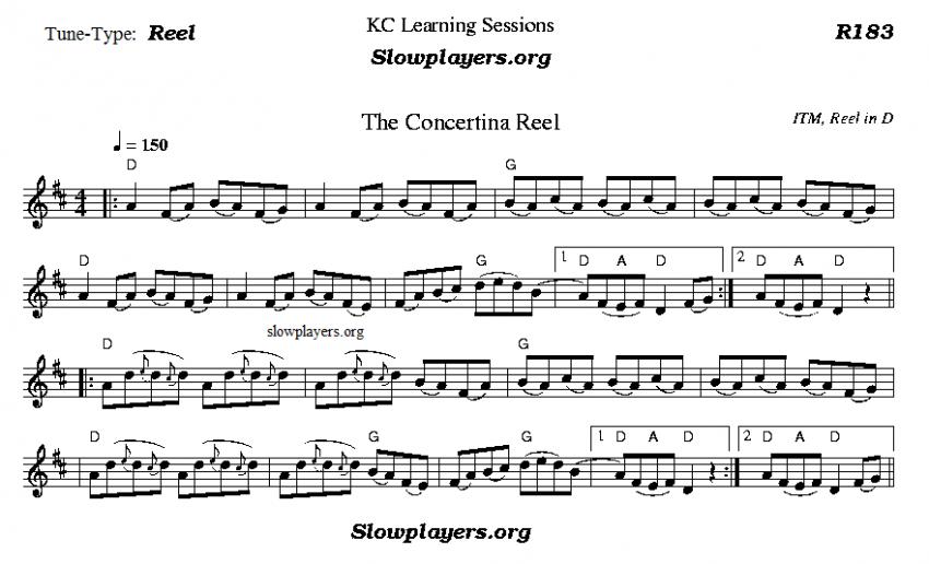 Concertina Reel