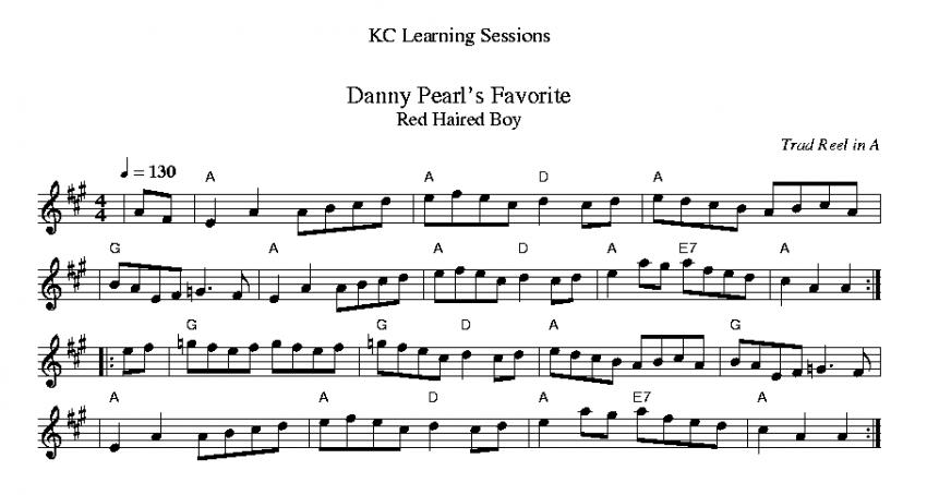 Danny Pearl's Favorite