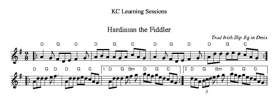 Hardiman the Fiddler