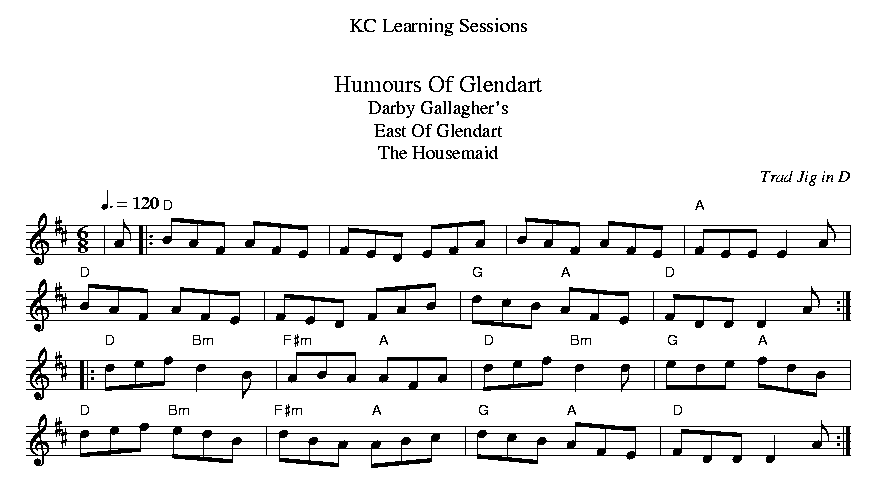 Humours Of Glendart