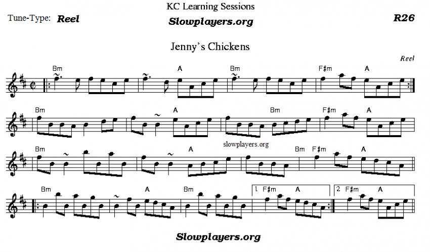 Jenny's Chickens