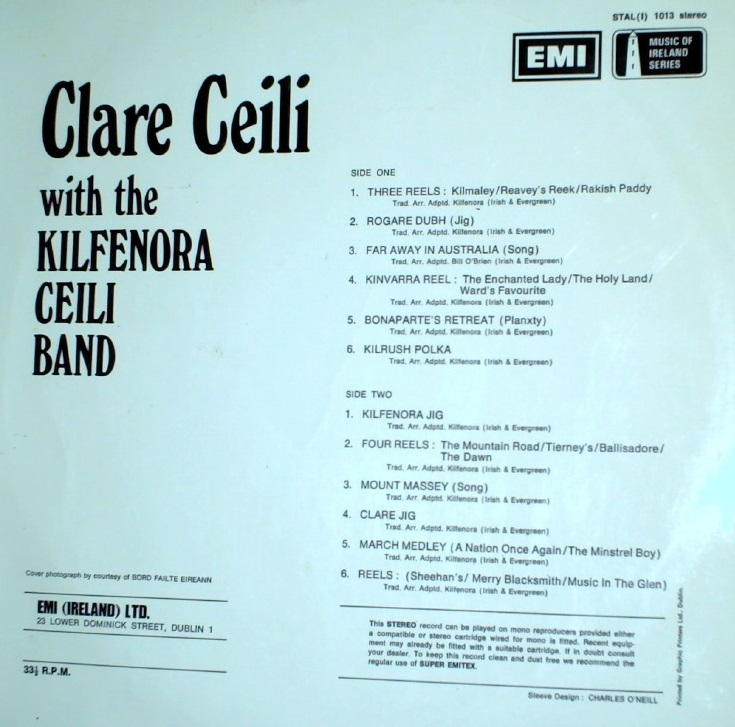 Kilfenora Ceili Band, Clare Ceili