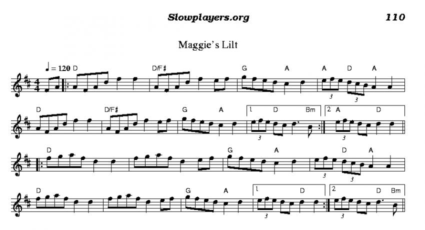 Maggie's Lilt